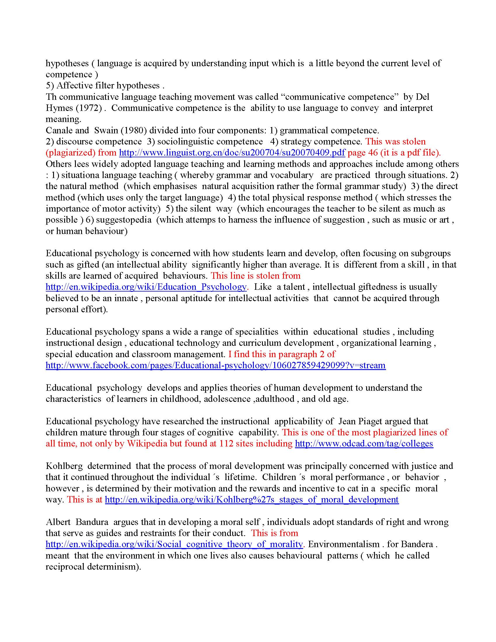 Essay On Plagiarism Initial Essay Read And Graded Page  Essay On Plagiarism