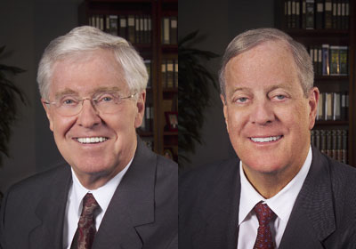 Koch Brothers of Kansas: one of the ten worse polluters