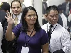 Perú: Keiko enfrenta oposición en familia