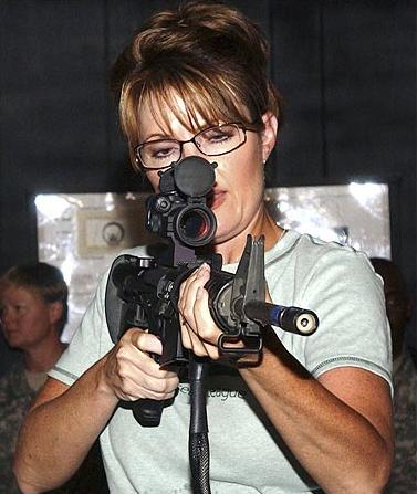 Sarah Palin Gun