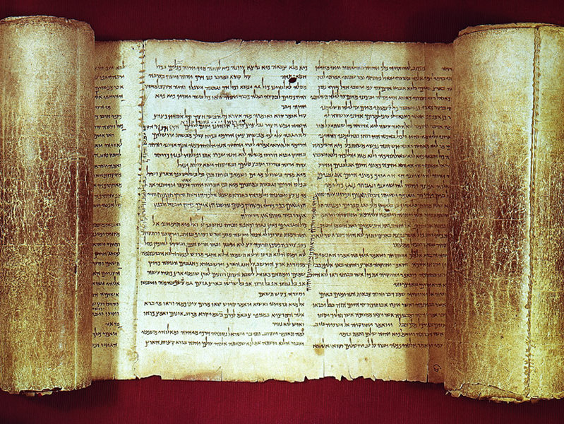 old dead sea scrolls carbon dating