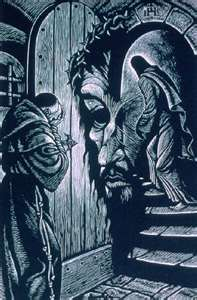 1948, wood engraving by Fritz Eichenberg, in The Brothers Karamazov