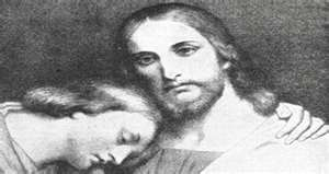 John the Beloved rests on the breast of Jesus
