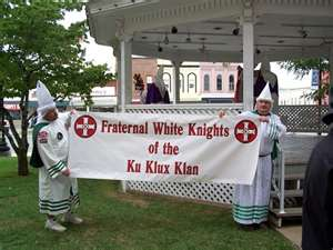 KKK at Pottsville IA (2010)