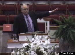 "North Carolina ""pastor"" Charles Worley demanding that all LGBT be executed"