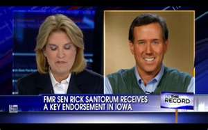 Santorum endorsed by Vander Plaats