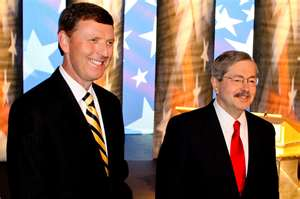 Vander Plaats and Iowa Gov. Branstad