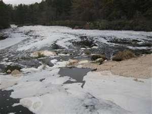 Georgia Pacific polluting Coffee Creek river AR (Koch Industries)