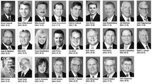 Michigan state Republican senators