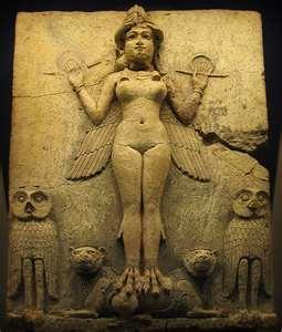Ishtar Semitic goddess