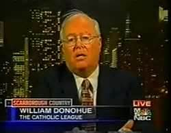 Bill Donahue of the Catholic League against SNAP
