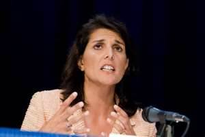 South Carolina Governor Kikki Haley (2012)
