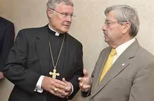 R. Walker Nickless and Iowa Gov. Terry Branstadt reject separation of state and church.