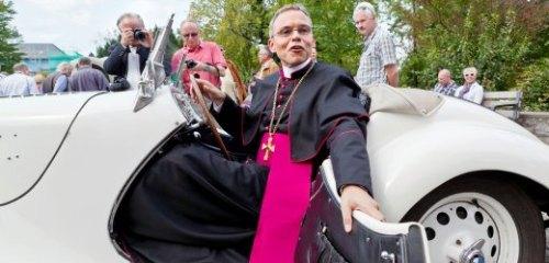 Tebartz-van Elst, 52, bishop of Limburg