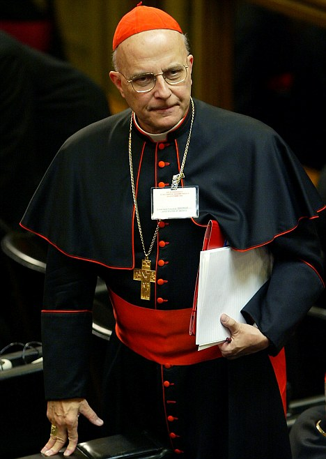 Francis cardinal George of Chicago