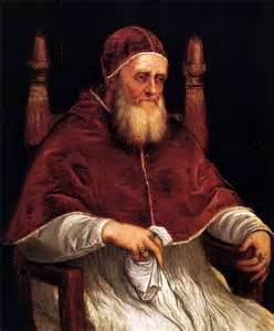 Pope Julius II (by Titian)