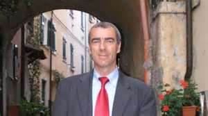Marco Caluri, mayor of Lerici, Italy (2012)