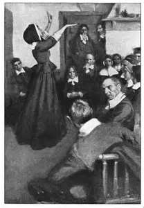 anne hutchinson puritan prophet Start studying history questions 2-5 learn vocabulary, terms, and more with flashcards, games anne hutchinson: opposed puritan ministers who distinguished saints from the damned through church attendance and moral behavior rather than through focusing on an inner state of grace.