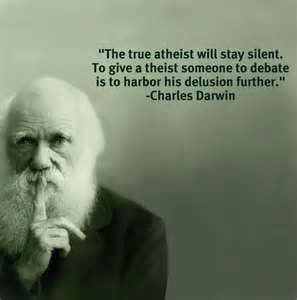 Charles Darwin on atheism