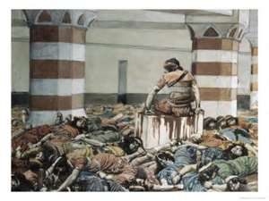 Gideon's Holocaust of Semitic people in Palestine/Canaan