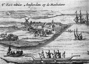 New Amsterdam (1626 engraving)