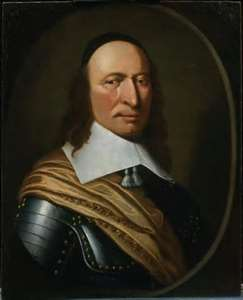 Peter Stuyvesant in New Amsterdam (New York)