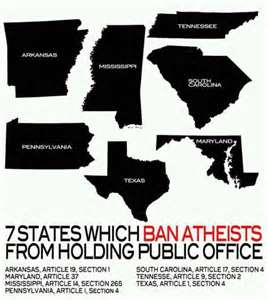 States that the deny atheists and agnostics basic human and civil rights